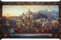 The painting that inspired the title of Wallace's work.